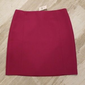 Loft Fuschia Skirt - NWT!